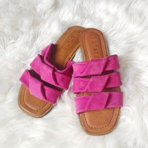 1. State NWOT Leather Sandals